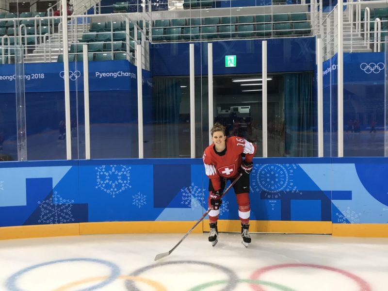 Nina Waidacher – Eishockey