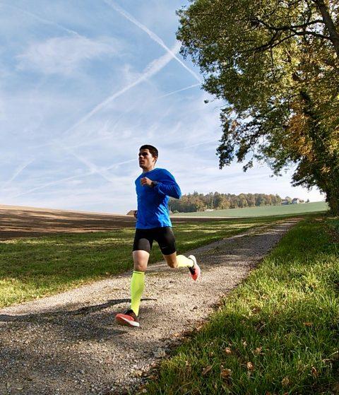 Silvan Bruhin running