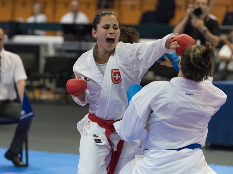 Elena Quirici – Karate